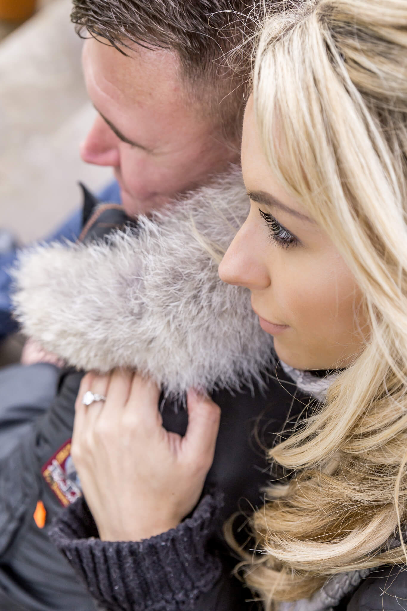 Engagement photos taken at The Grove at Hertfordshire by Natalie Chiverton Photography