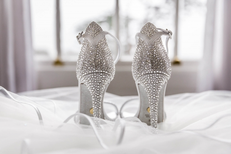 Loriblu shoes shot by wedding photographer Natalie Chiverton Photography