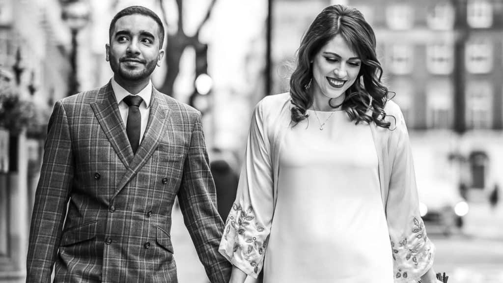 Kimpton Fitzroy London wedding | Veronika and Mo