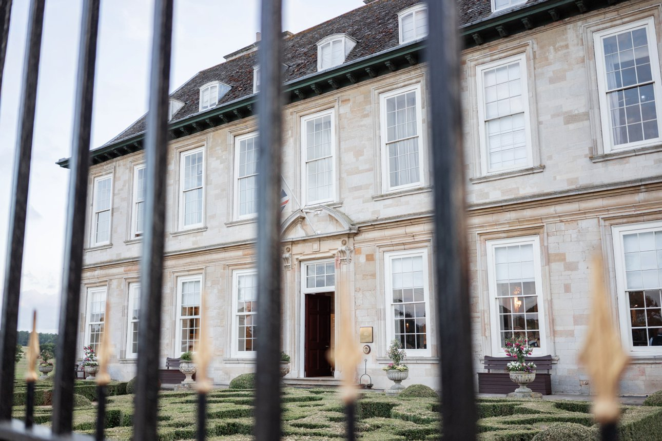 Leicestershire wedding venue Stapleford Park Country House Hotel and Sporting Estate.