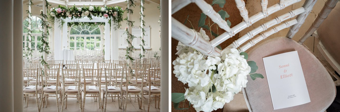 Beautiful white wedding flowers by Sophie's Flower Company based near Grantham.