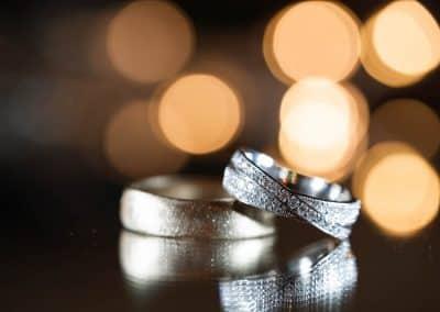 wedding-rings-gold-band-and-diamond-band