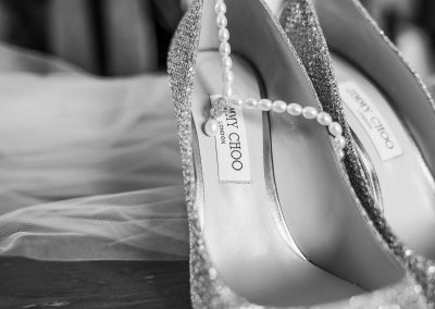 jimmy-choo-glittery-wedding-shoes-with-pearl-necklace