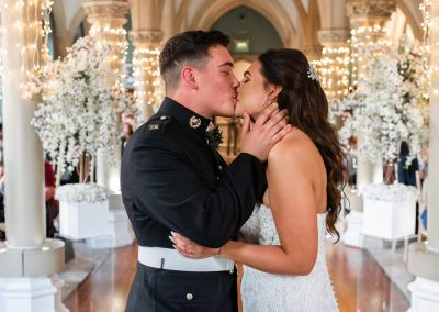 bride-and-groom-having-loving-first-kiss