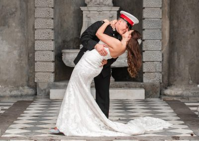 couple-portrait-having-an-intimate-kiss