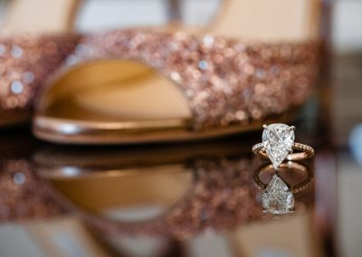 jimmy-choo-rose-gold-glitter-shoes-and-diamond-engagement-ring