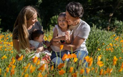 Wildflower Family Portrait Sessions