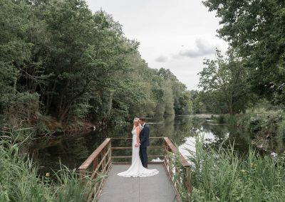 bride-groom-lakeside-wedding-portraits-by-the-lake