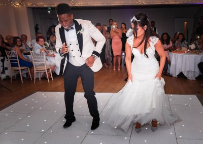 bride-groom-on-white-dance-floor