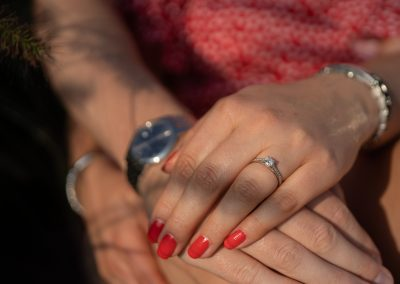 engaged-couple-hand-with-rings-at-the-grove-hotel-hertfordshire